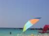 hawaii, beach, umbrella