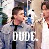 Fangirlage like WHOA.: SPN // S&D - BUAH; dude!Dean & IDFK!Samm