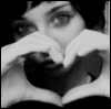 girl heart hands