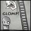 Vocabulary/Back Scritches: glomp!