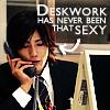 Jin desk work