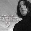 Campaspe: Harry Potter \\ Severus; cookie jar