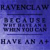 ravenclaw overachiever