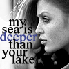 My Sea is deeper than your lake