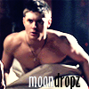Late Night Drops of Random: B/W Dean b-day icon