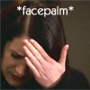 criminal minds prentiss facepalm