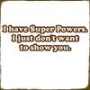 words: super powers