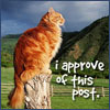 charley: Cat approves this post