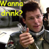 Rachel: Wanna drink
