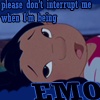 Lilo is emo