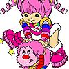 Rainbow Brite - Tickled Pink w/Sprite