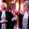 Boston Legal - Alan and Denny in Wigs