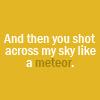 twilight // meteor