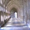 contemplative, cloister, peaceful