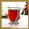 tea in glass mug