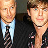 (MUSIC) jake shears anderson cooper, (ANDERCONS) anderson jake shears