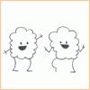 Gina: clouds dancing