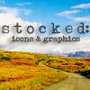 stocked autumn road