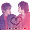 aisutenshi / k_y_o / kame wants kiss