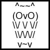 ascii the owl