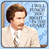 Anchorman - Punch in ovary