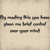 TXT - Brief Control Of Mind
