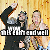 FUCK U KANYE. IT'S LIKE U STEPPED 0N A KITTEN.: Sabu & Jeff Hardy - can't end well