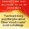 snowandsunshine: Hogwarts Not Allowed