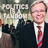 Vertelemming: Politics is a Fandom - Rudd Cheeky