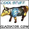 gladiator cow, cool stuff