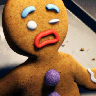 gingerbread man wtf