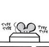 typing rat