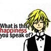 Happiness?