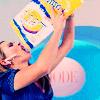 Amanda and chips