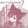 Ritsuka: Don't you know?