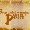 global warming pirates
