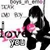 i <3 emo boys