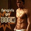 Boo: fangirls go boom!