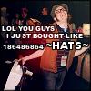 """randomassnumber"" hats"