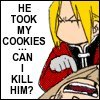 Aeris: He took my cookies...