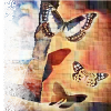 butterflies beige
