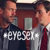 House/Wilson eyesex