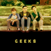Freaks and Geeks -- Geeks on sidewalk