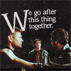 Fangirlage like WHOA.: SPN // S&D&J - Go After This Thing Toget