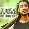 sayid made of awesome