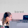Karen Filippelli: [express] bored.