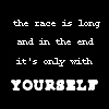 race w/ yourself