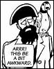 awkward pirate