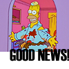 suya: Homer Good News (Simpsons)