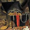 juwelenkist, vanitas